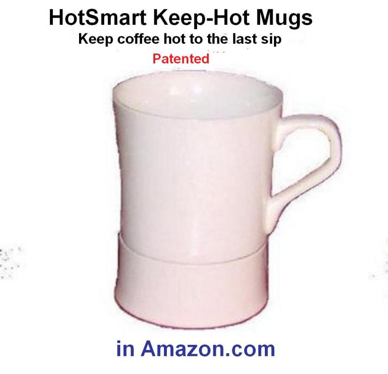 Mugs that keep coffee hot to the last sip